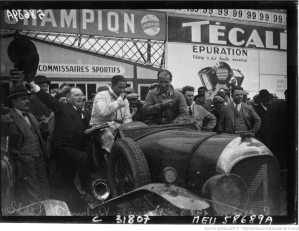 24 heures du Mans en 1928 : BNF, département Estampes et photographie, EI-13 (2832)